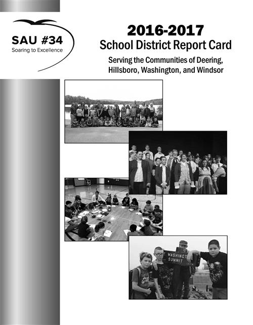 16-17 school district report card cover